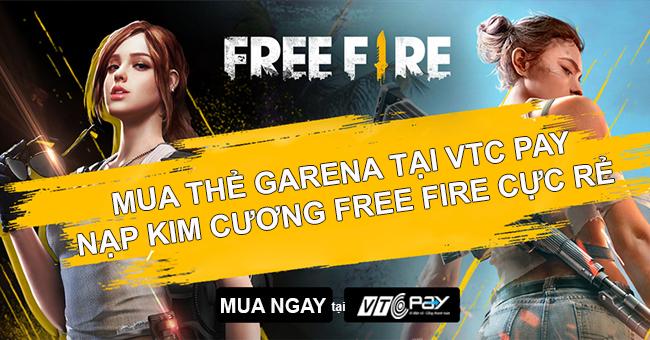 hướng dẫn nạp thẻ free fire