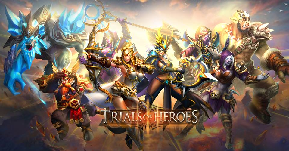 nạp tiền Game Trials of Heroes