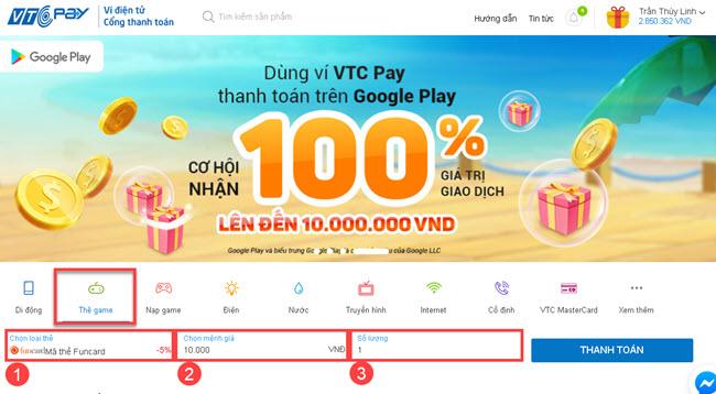 Mua thẻ Funcard ở đâu? Hướng dẫn mua thẻ Funcard online giá rẻ