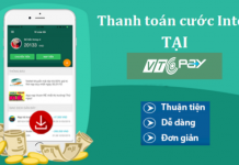 thanh toan cuoc internet tai vtc pay
