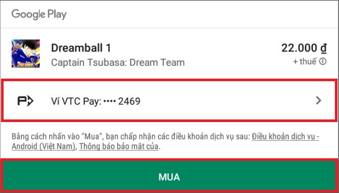 Hướng dẫn nạp tiền Captain Tsubasa: Dream Team để có đội hình mạnh nhất