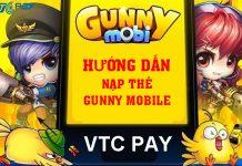 huong dan nap the gunny mobile bang the zing xu