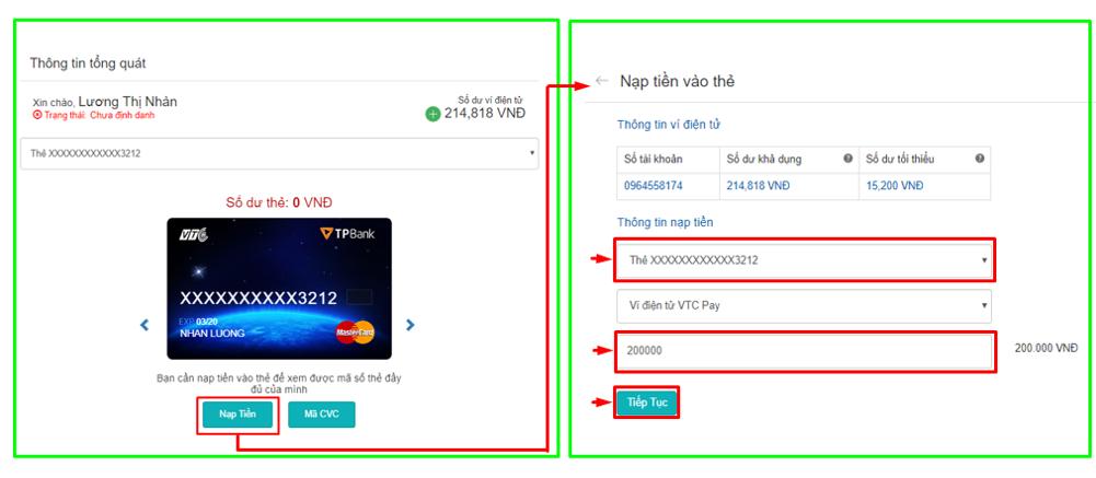 B3- nap tien the VTC Mastercard