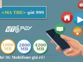 the nap 3G Mobifone