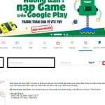 đóng tiền cước điện thoại cố định VNPT trên Web VTC Pay