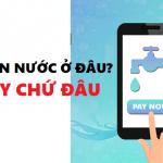 thanh toán tiền nước online mọi miền tổ quốc