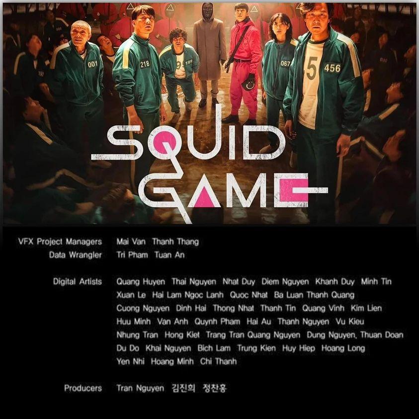 Ekip Việt tham gia Squid Game