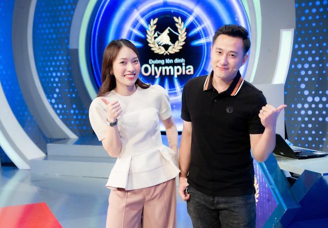 Khánh Vy MC Đường lên đỉnh Olympia mới nhất