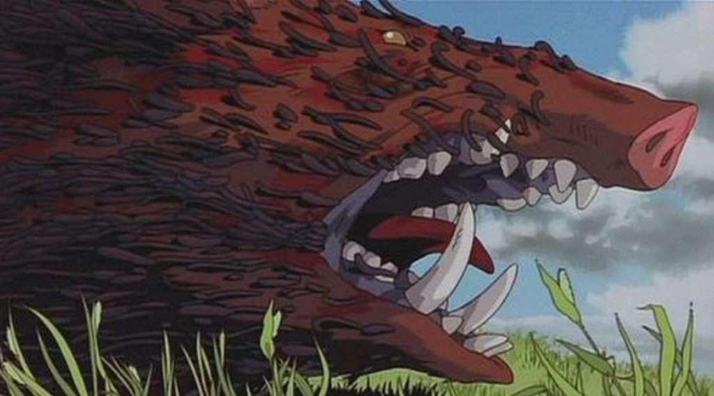 Phim Ghibli Công chúa sói
