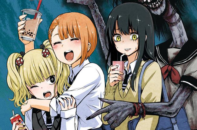 Mieruko chan - anime